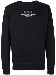 Staff crewneck sweatshirt Marcelo Burlon County Of Milan