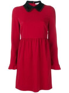 платье с бантом на воротнике  Red Valentino