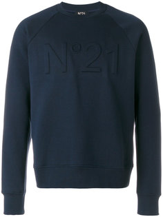 logo embroiderd sweatshirt Nº21
