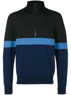 striped half-zip sweatshirt Givenchy