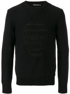 skull embossed sweatshirt  Alexander McQueen