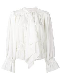 блузка с завязкой на бант и длинными рукавами Chloé