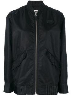 куртка-бомбер с плиссированной отделкой по краю  Maison Margiela