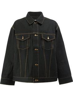 куртка с простроченной отделкой Facetasm