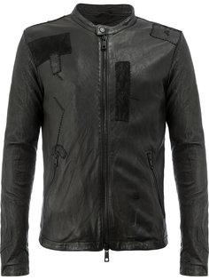 лоскутная куртка на молнии Giorgio Brato