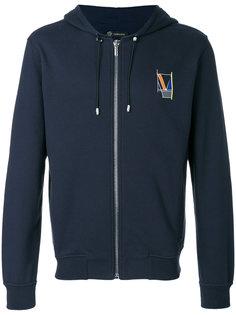 geometric logo hoodie Versace
