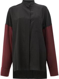 "рубашка дизайна ""колор-блок"" Haider Ackermann"
