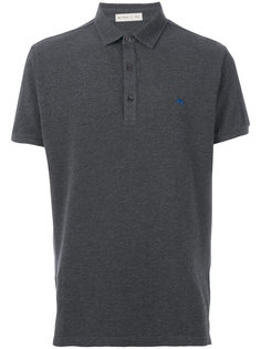 embroidered logo polo shirt  Etro