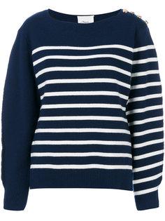 трикотажный свитер в полоску  3.1 Phillip Lim