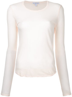 sheer top James Perse