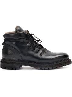 ботинки с оторочкой из искусственного меха Silvano Sassetti