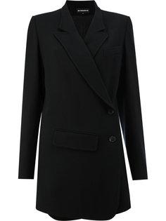 пиджак с асимметричным дизайном Ann Demeulemeester