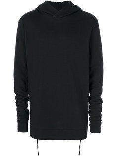 rib detail hoodie Thom Krom
