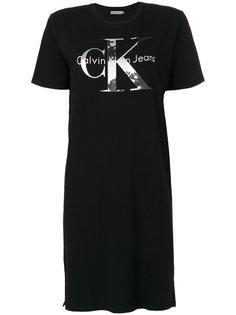 платье-футболка с принтом логотипа Ck Jeans