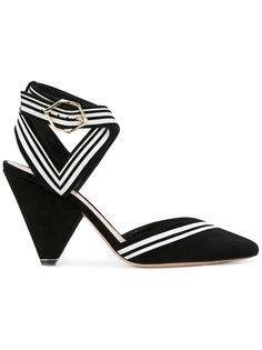 туфли с полосатой отделкой Nicholas Kirkwood