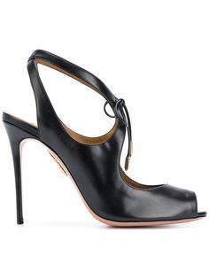 туфли с открытым носком Aquazzura