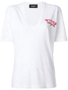 футболка с V-образной горловиной Dsq2 Dsquared2
