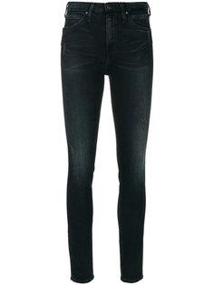 джинсы кроя скинни с потертой отделкой Ck Jeans