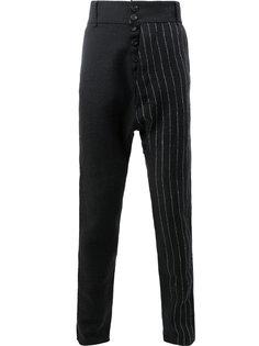 брюки в тонкую полоску Cedric Jacquemyn
