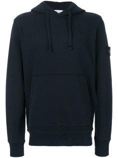 hoodie with branded sleeve Stone Island