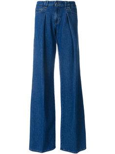 расклешенные джинсы Red Valentino