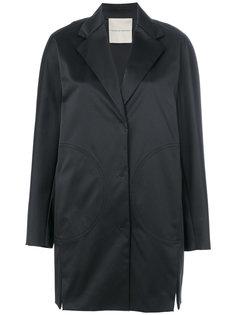 однобортное пальто Marco De Vincenzo