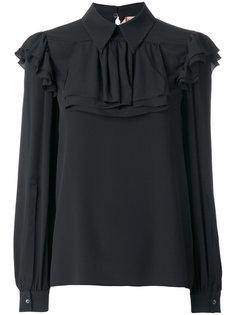 блузка с плиссировкой  Nº21