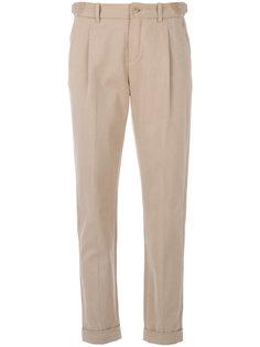 брюки чинос со складками  Loro Piana
