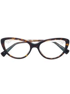 """очки с оправой """"кошачий глаз"""" Bulgari"""