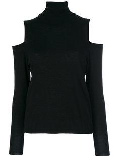 свитер-водолазка с открытыми плечами  P.A.R.O.S.H.