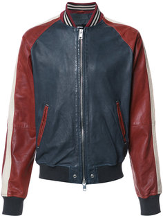 двухцветная куртка Diesel