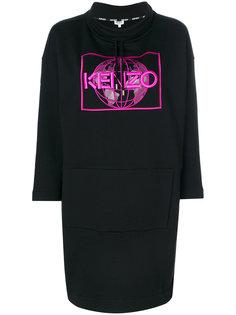платье-толстовка Kenzo World Kenzo