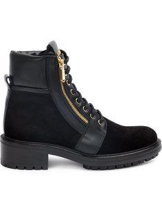 ботинки с молнией Balmain