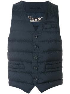 классический пуховый жилет Herno