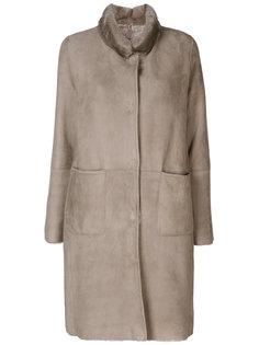 пальто с накладными карманами Manzoni 24