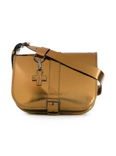 металлизированная сумка-сэтчел с ремешком A.F.Vandevorst