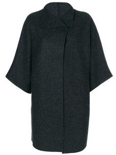 oversized cape jacket Harris Wharf London