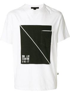 футболка с нагрудным карманом Alexander Wang