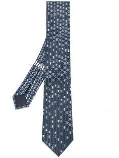 шарф с принтом автобомилей Bulgari
