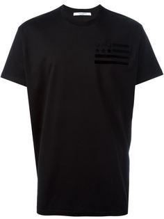 футболка с аппликацией  Givenchy