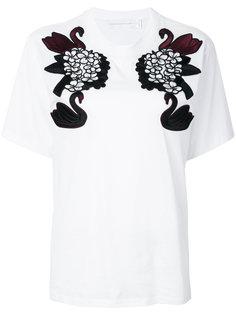 футболка с аппликацией Victoria Victoria Beckham
