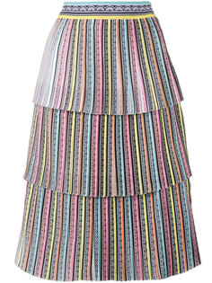 многослойная юбка Baccarat Mary Katrantzou