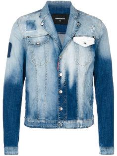 джинсовая куртка с нагрудными карманами Dsquared2