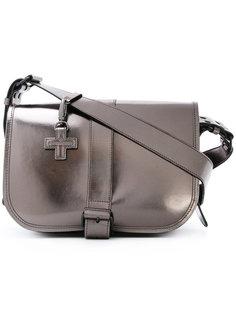 металлизированная сумка-сэтчел A.F.Vandevorst