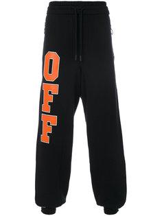 спортивные брюки с логотипом Off-White