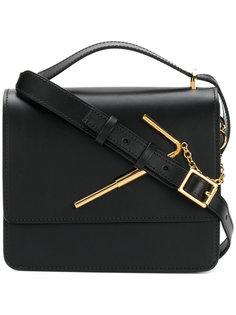 сумка через плечо с золотистой деталью Sophie Hulme
