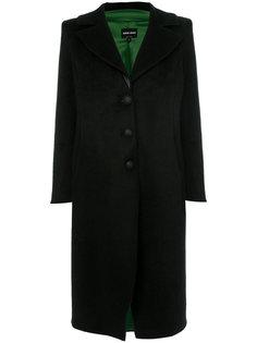 пальто из искусственного меха  Giorgio Armani