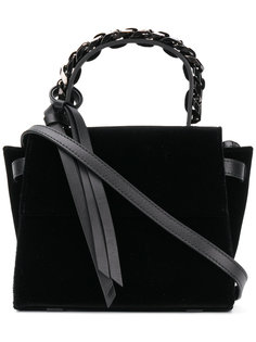 мини сумка-тоут с цепочной деталью Elena Ghisellini