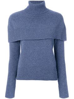 свитер с рукавами-кейп  Chloé