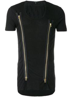 zip insert T-shirt Unconditional